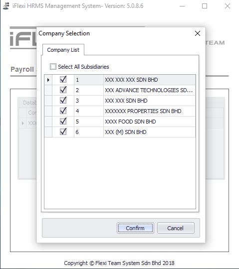 Company Selection